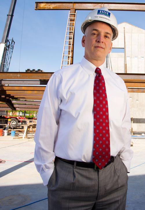 Paul Shaughnessy, BSI's President and Chief Operating Officer, photo courtesy of the St. Louis Business Journal