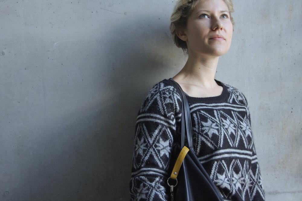 Christina Pauls, Leder-Schlüsselanhänger in senfgelb