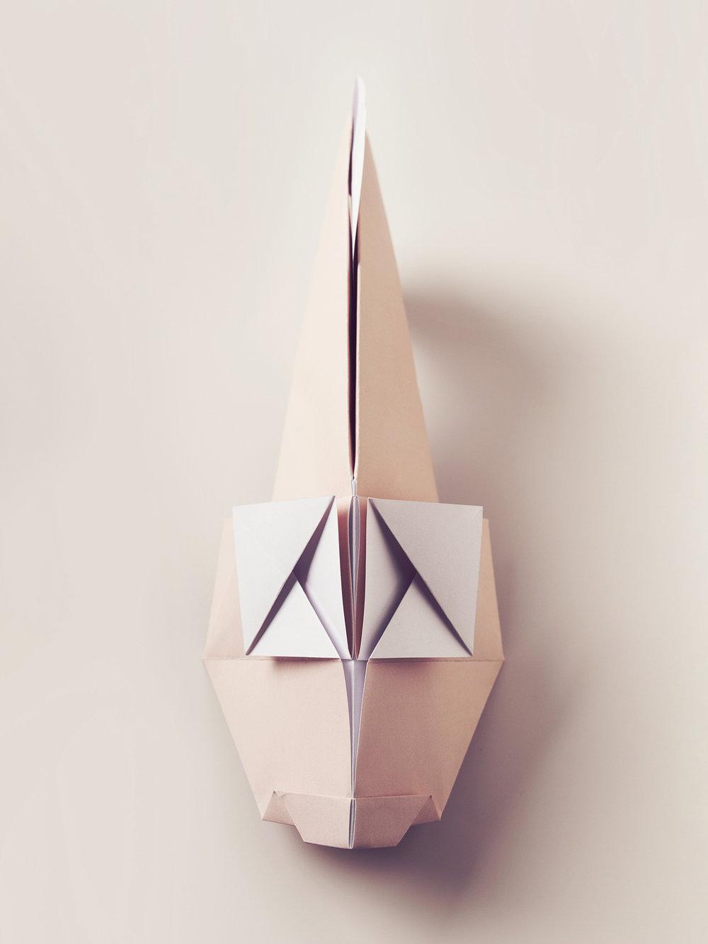 Origami Figur Goldfisch  Origami figure Goldfish