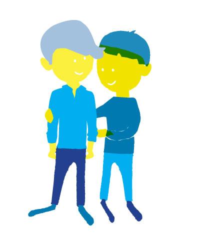 Jan und Frank  #Bewohner einer Wohngemeinschaft