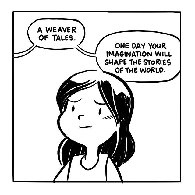 "#inktober Day 9, although at this point maybe I ought to enclose ""Day"" in quotes. Nevertheless, I'm fully caught up now, finally! The panel-a-day format resumes in earnest tomorrow! (I hope!) #inktober2017 #illustrations #comics #stories #shorttalltales"