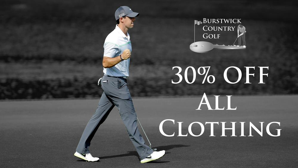 30% Pro Shop Sale