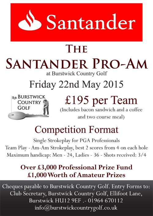 Santander Pro-Am