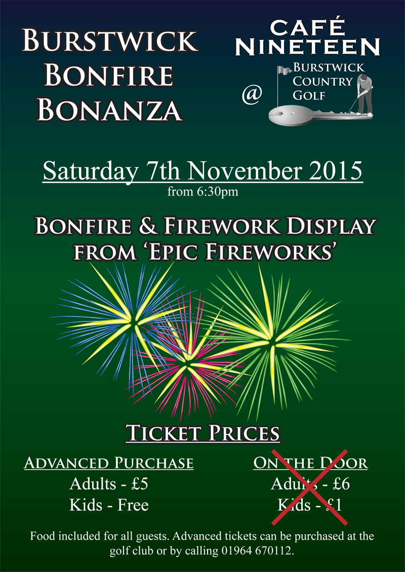 Bonfire and Fireworks Night