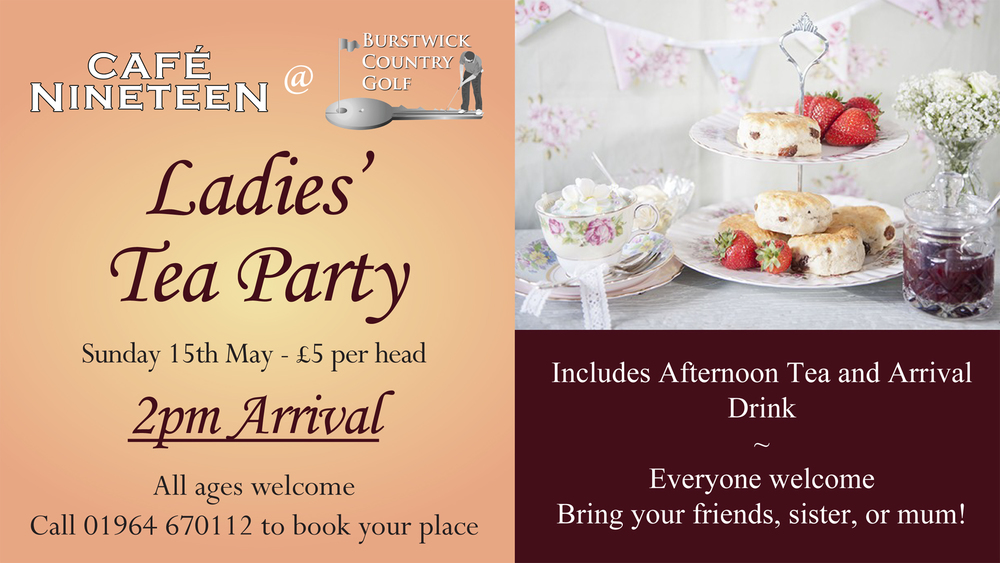 Ladies Afternoon Tea