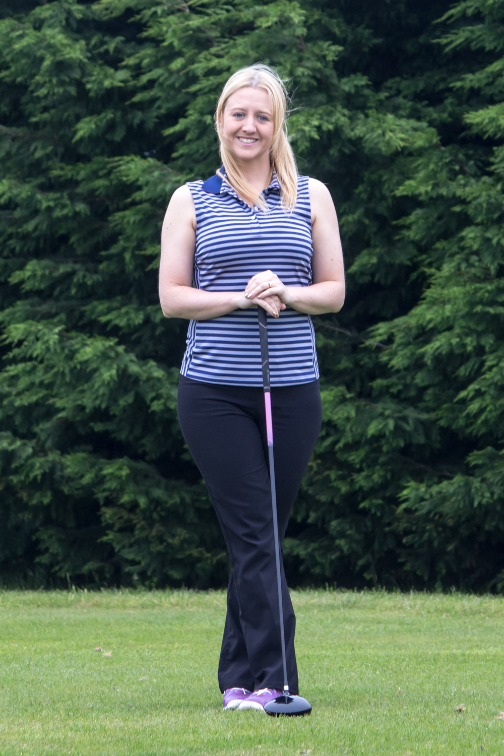 Laura Key 100 Holes of Golf for Charity