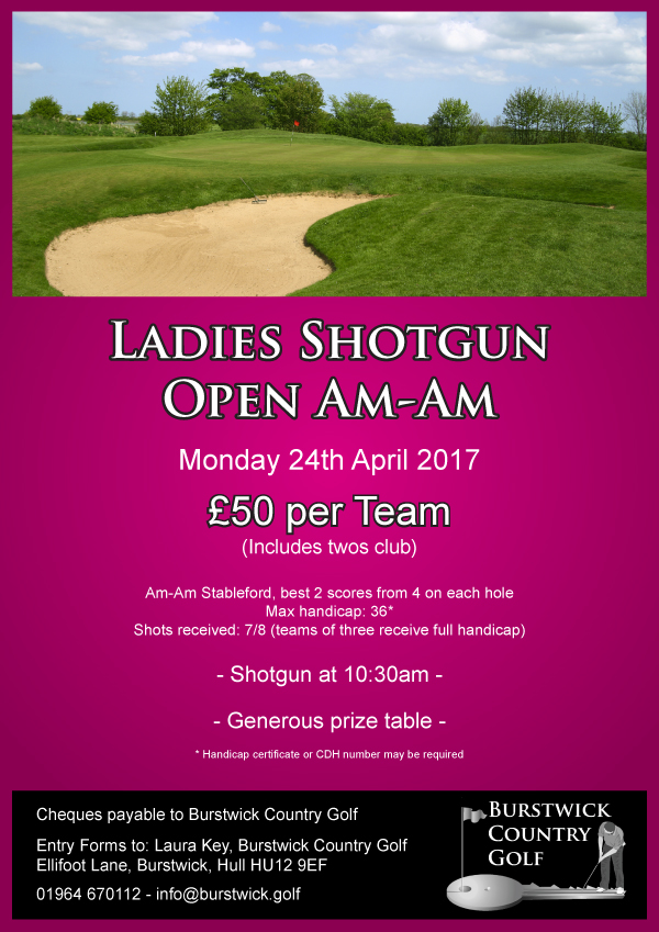 Ladies Spring Shotgun Open Am-Am