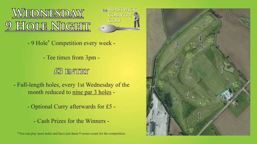 Wednesday Night Par 3 Competition