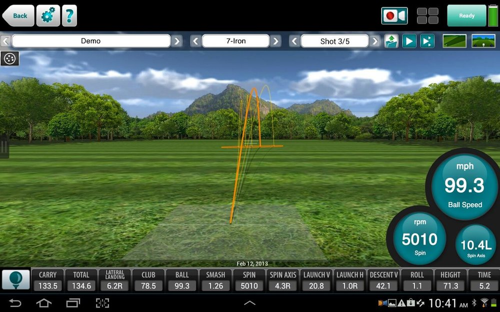 Flightscope Xi Tour Radar Launch Monitor