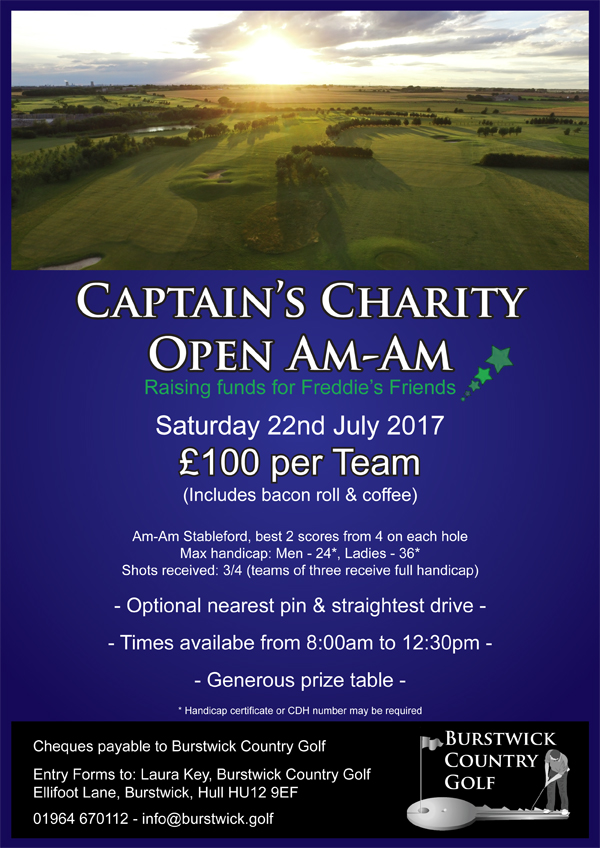 Captain's Charity Shotgun Open Am-Am