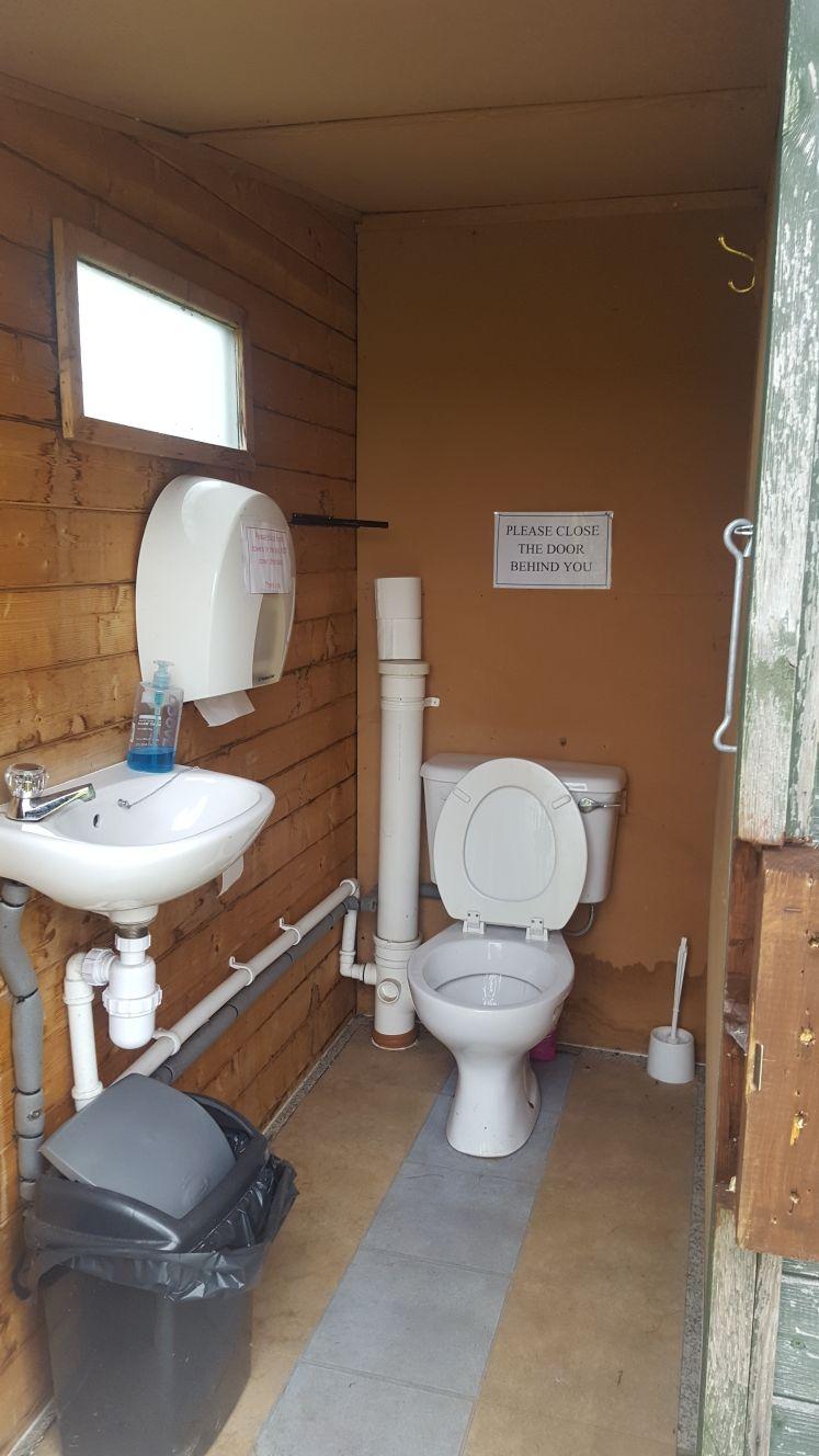 Ladies' Toilet (Before)