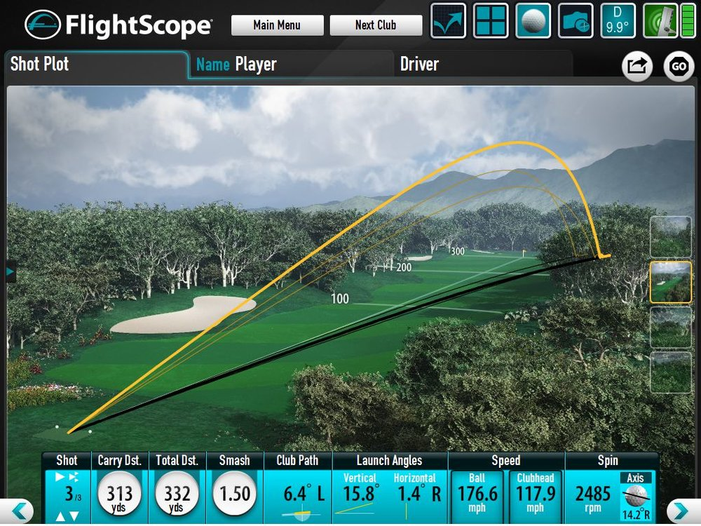 Flightscope Xi Tour