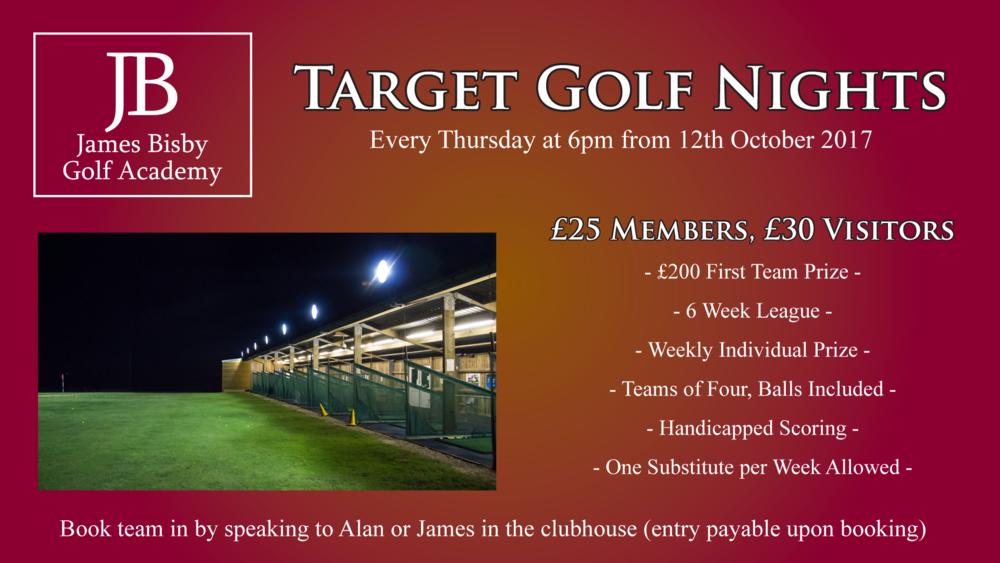 Target Golf Nights near Hull, East Yorkshire