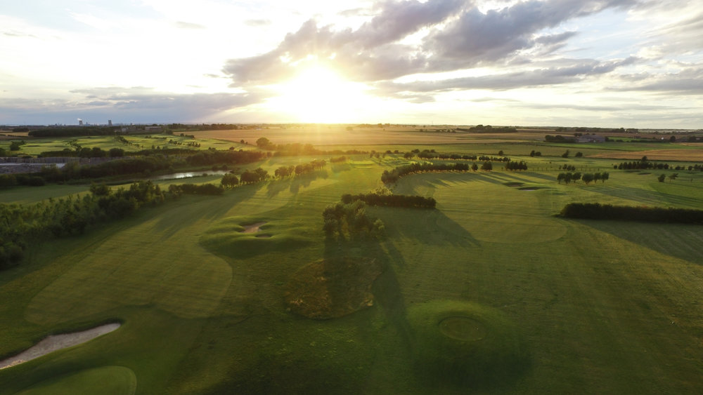 Golf course near Hull, East Yorkshire