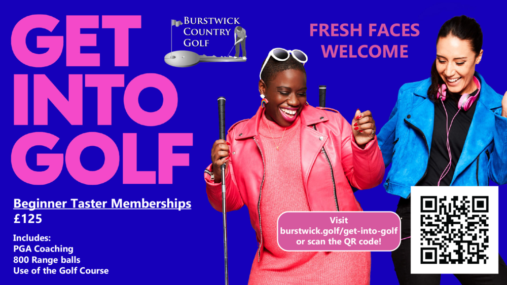 Get into golf - for everyone!