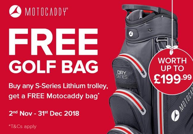 Free Motocaddy Bag