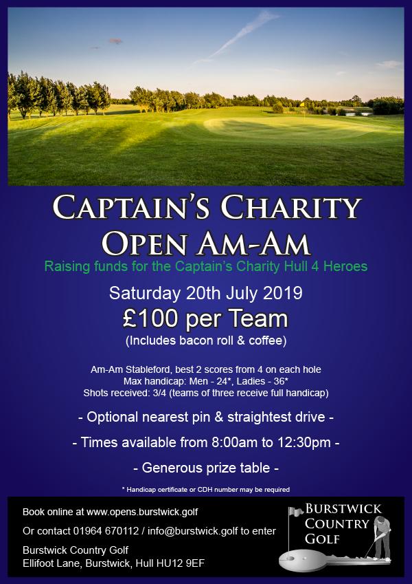 Captain's Charity Open Am-Am