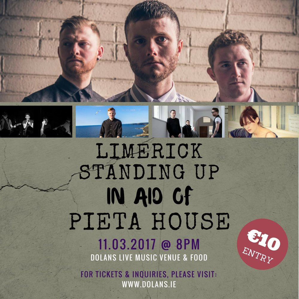 Limerick Standing Up: In aid of Pieta house