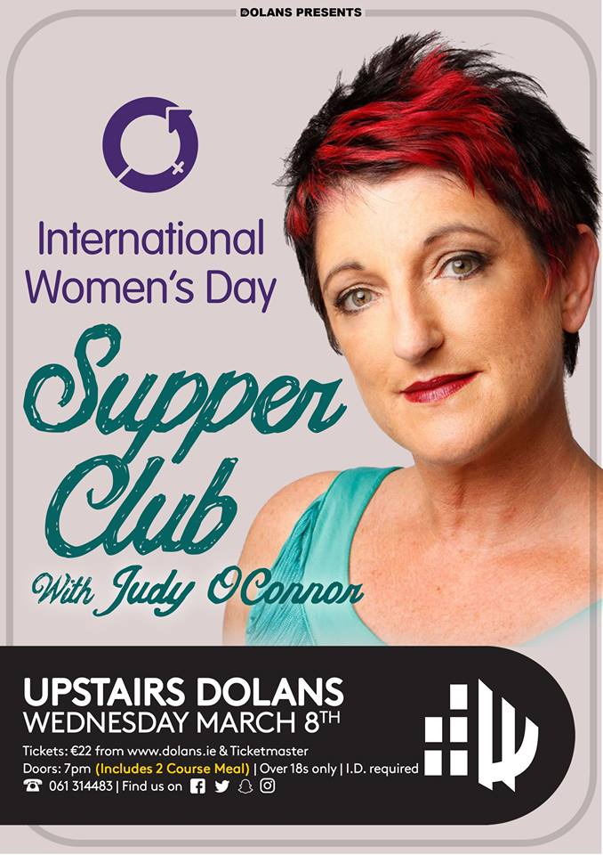 Judy O'Connor Int Womens Day Supper Club dolans limerick