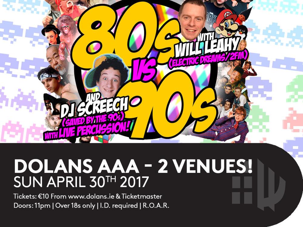 80s vs 90s Dolans Limerick Will Leahy and DJ Screech