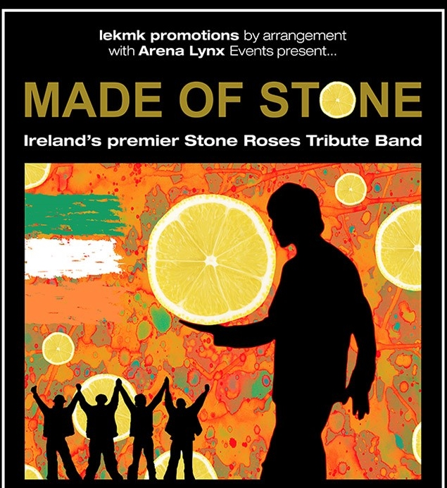 made of stonem stone roses tribute