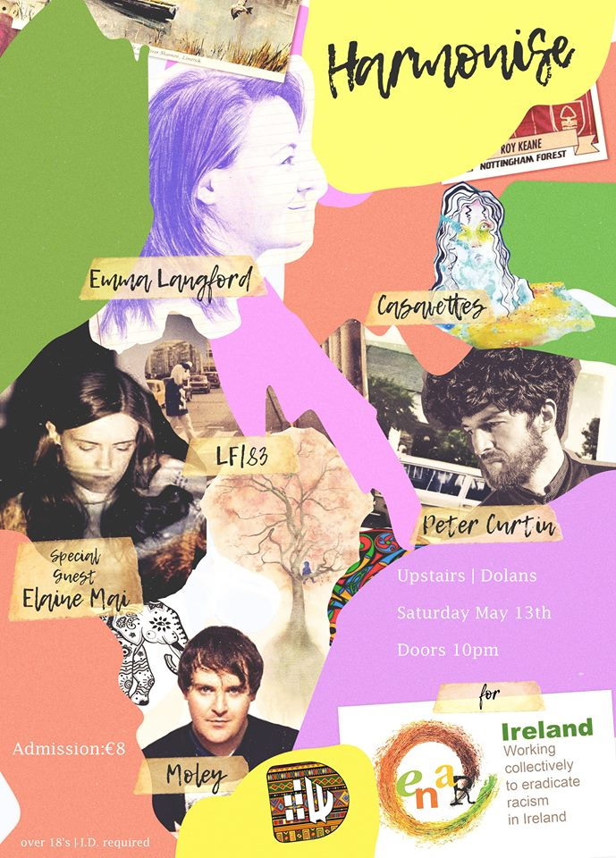 Harmonise in aid of ENRG in Dolans on May 13th