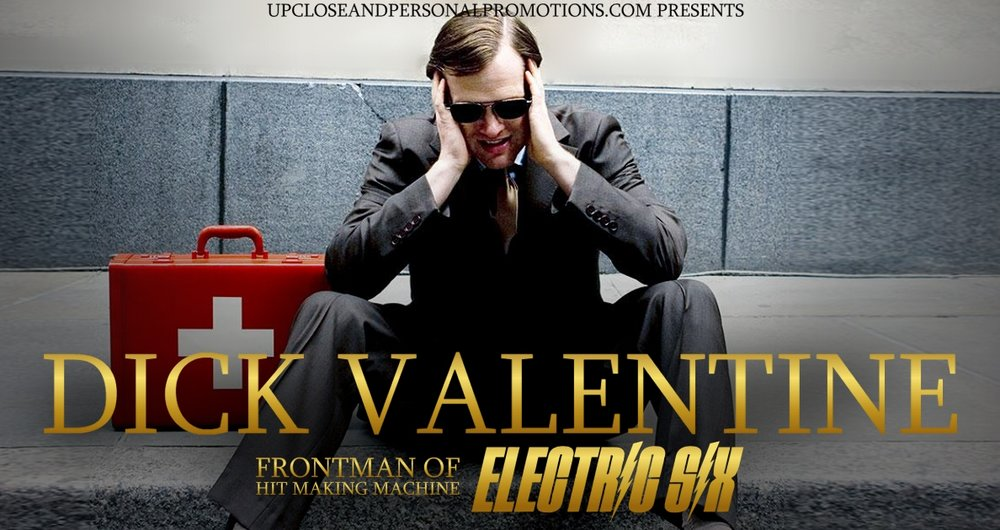 Dick Valentine from Electric 6 solo tour in Dolans Limerick on August 26th