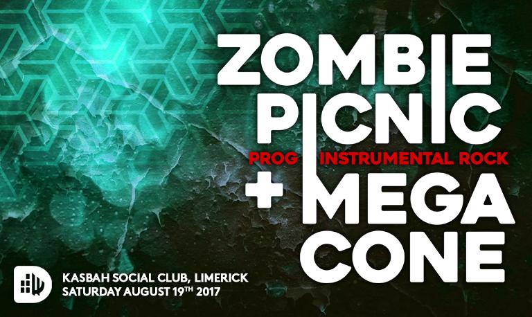 "Double Header MEGACONE & ZOMBIE PICNIC ""Prog-rock"" night"