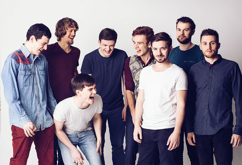 Booka Brass live in Dolans Warehouse Limerick as part of Limerick Jazz Featival on September 24th at 2:30pm
