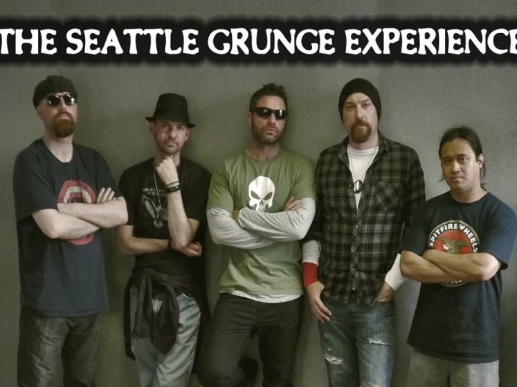 The Seattle Grunge Experience live in Kasbah Social Club Limerick on September 29th 2017