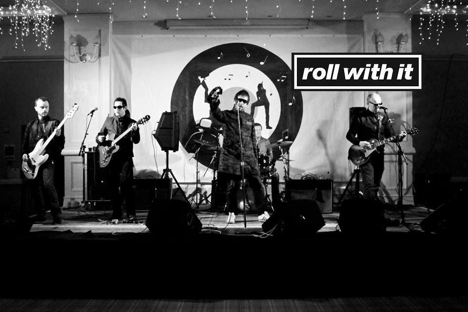 Roll-With-It Oasis Tribute band live in Dolans Warehouse on December 9th 2017