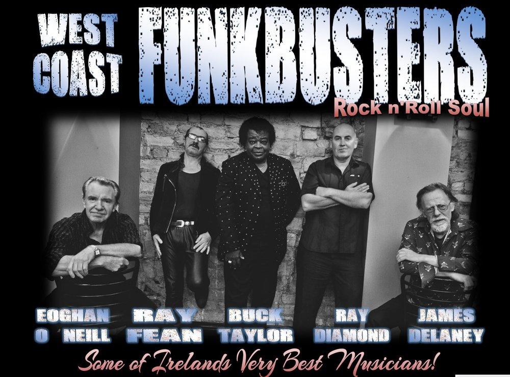 Funkbusters Dolans Warehouse January 20th