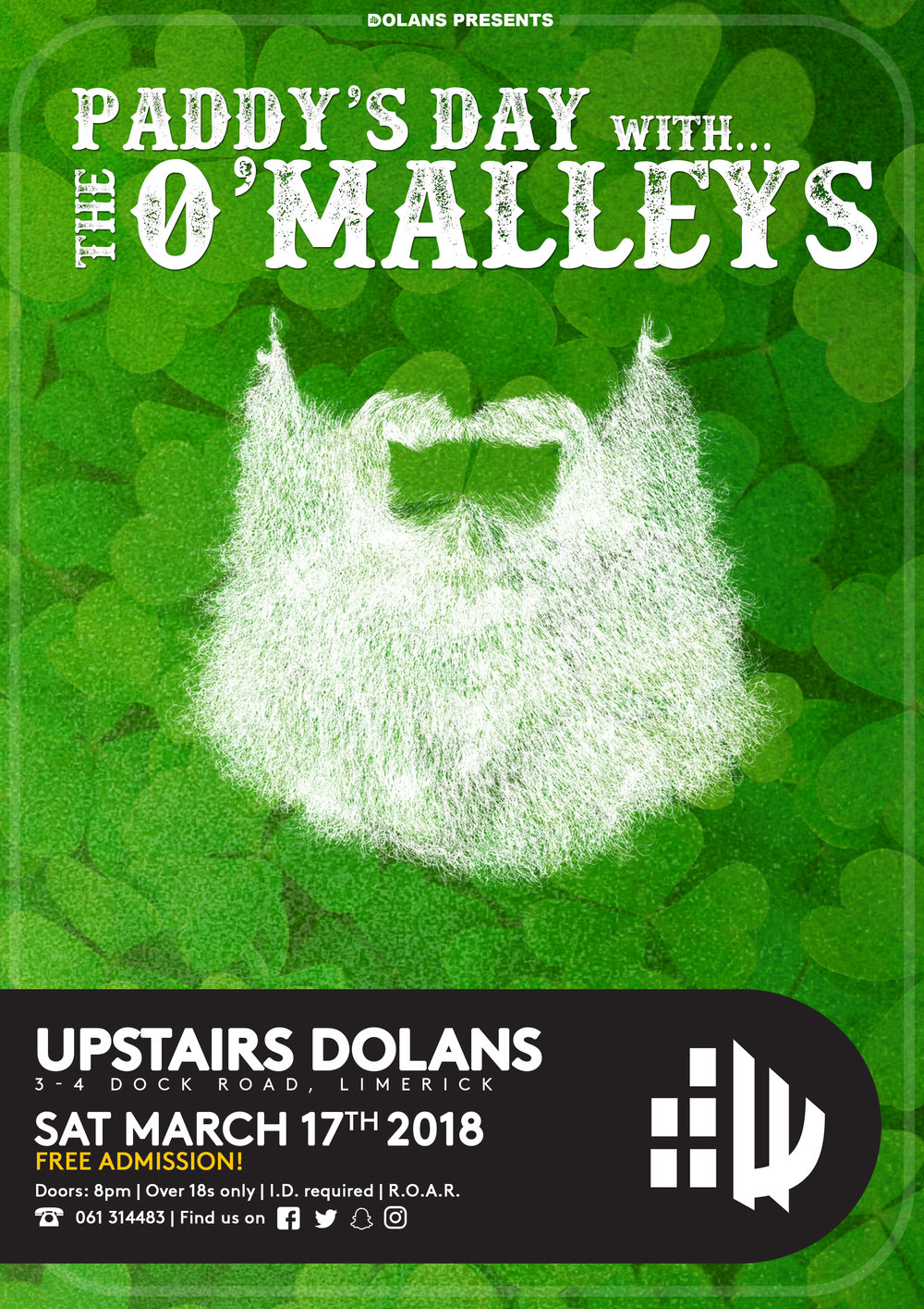 O Malleys Paddys Day March 17th Dolans Limerick