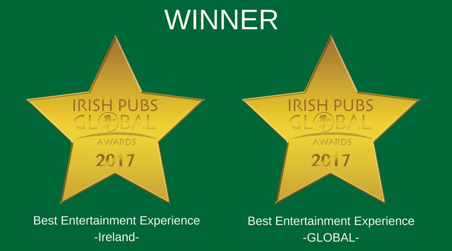 Dolans Best Entertainment (World) 2017 - Dolans Best Entertainment (Ireland)2017