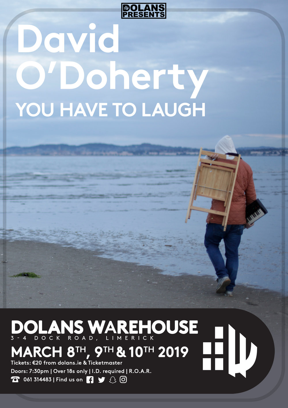 On Sale now from Dolans.ie €20 plus BF