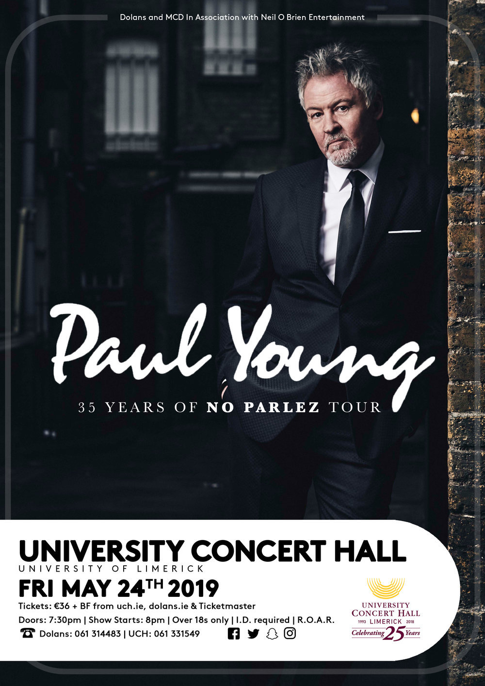 Tickets €38 - Available from The University Concert Hall