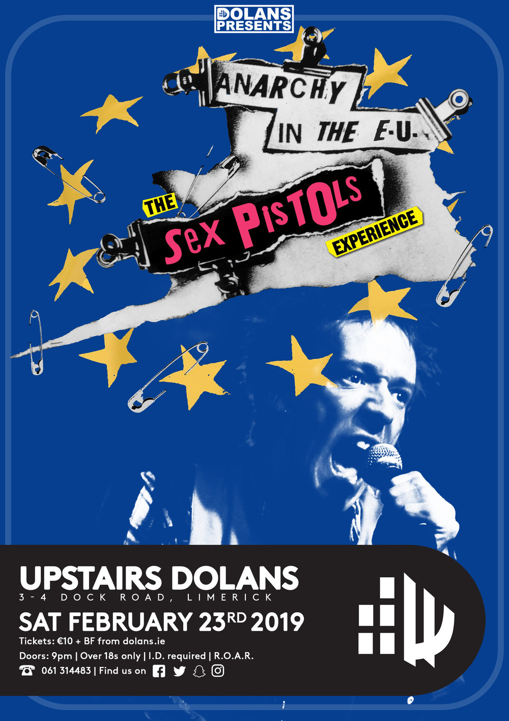 Gig Listings Dolans Live Music Venue Food Hes Electric Strikes Wiring Diagram Tickets 1150