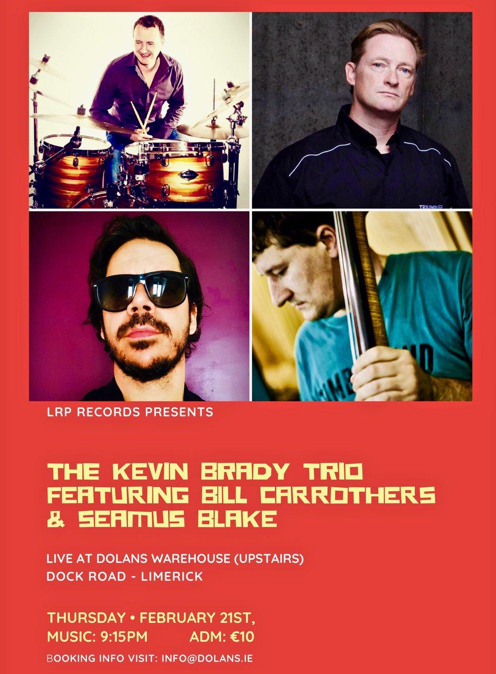 Limerick Jazz the Kevin Brady Trio