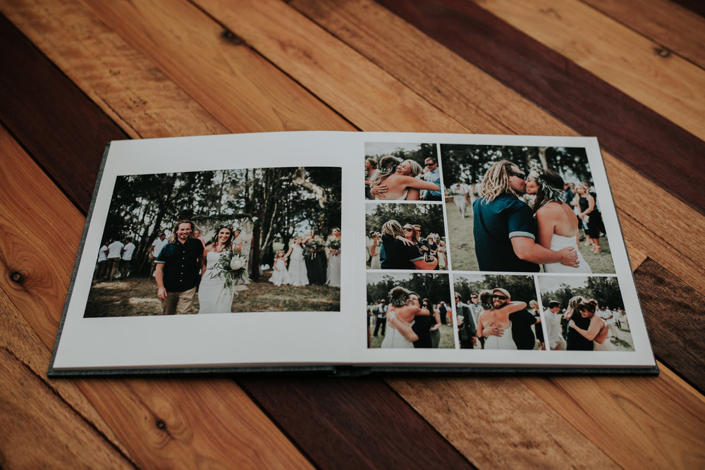Fine Art Wedding Album - Lay Flat