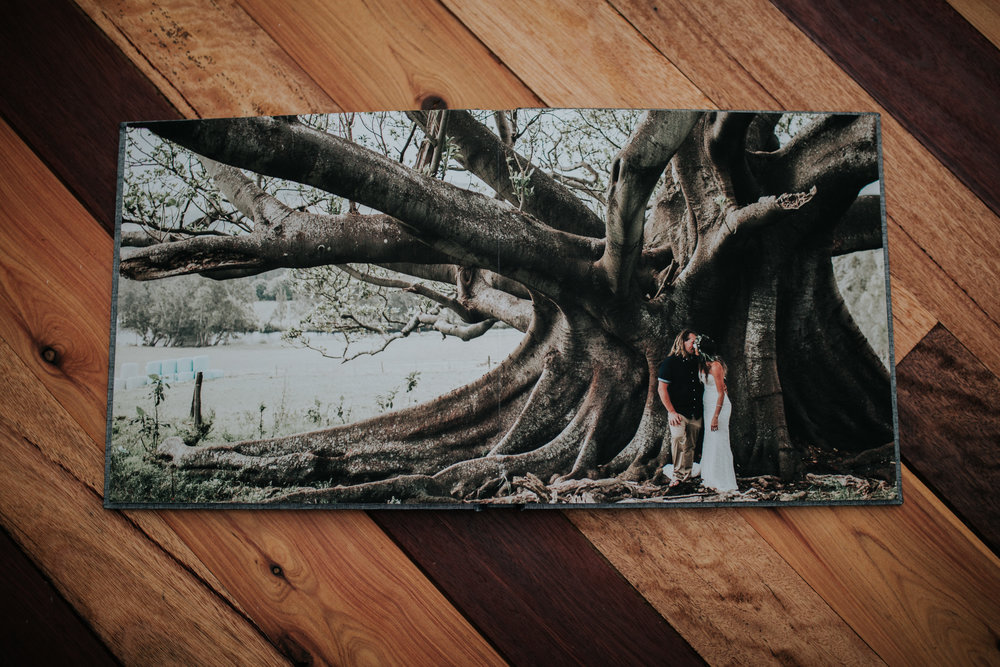 Fine Art Wedding Album -Tara & Luke - Jamberoo