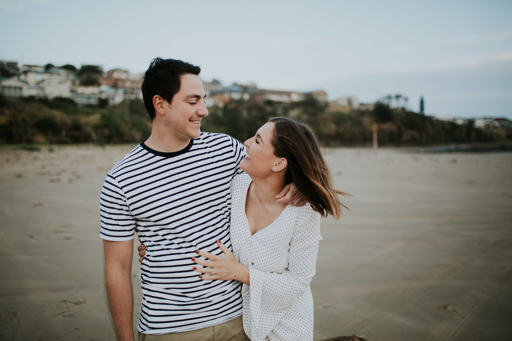 Kristen + Daniel - Kiama Engagement Session