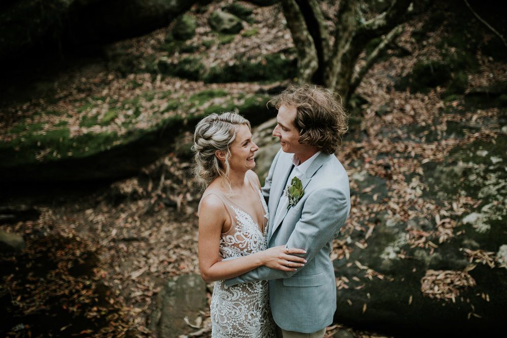 Jessie + Matt - Wildwood Kangaroo Valley Wedding