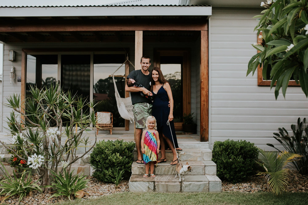 The Shorties - South Coast In Home Family Lifestyle Session