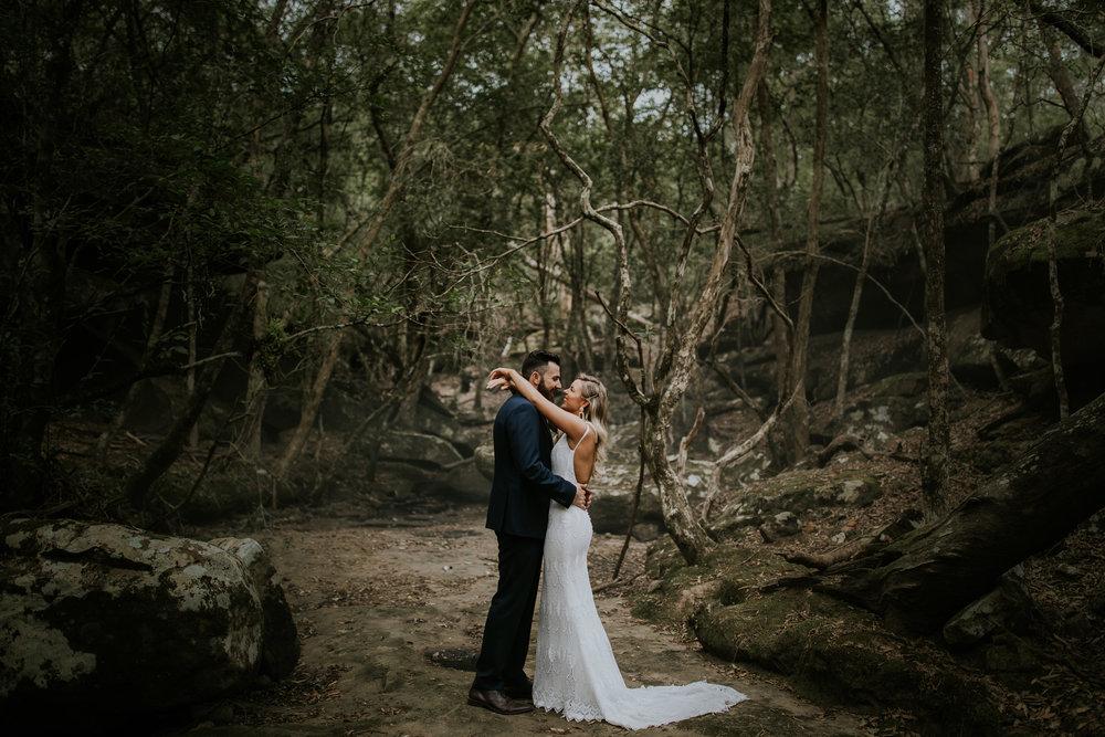 Liana + Martin - Relaxed Wildwood Kangaroo Valley Wedding