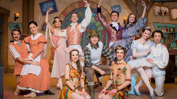 The Elves and the Shoemaker, filmed at the West Yorkshire Playhouse, 45 minutes, 2015