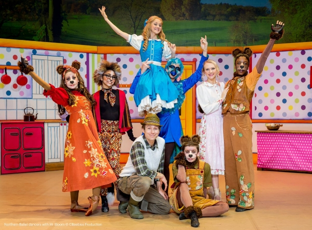 Goldilocks & the Three Bears, filmed at the West Yorkshire Playhouse, 45 minutes, 2017