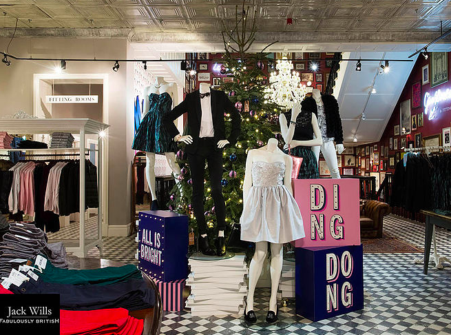 JACK WILLS CHRISTMAS LAUNCH