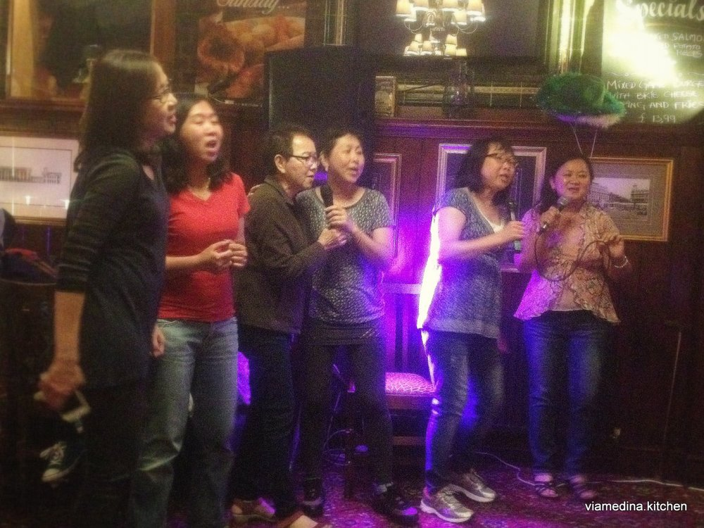reggie karaoke
