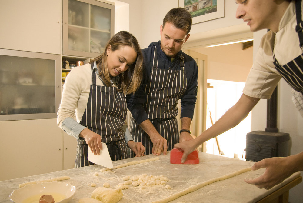 cooking lessons, fun, gnocchi