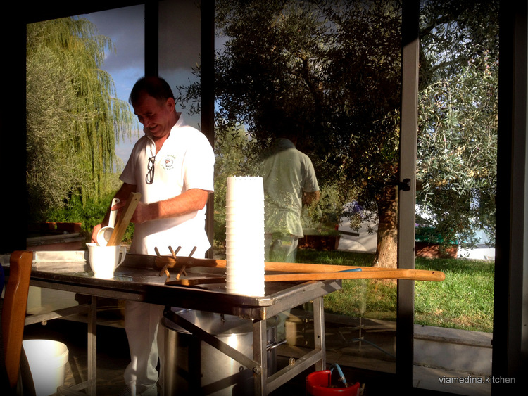cheese making lessons, classes, cheese, italy, perorino